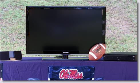 Ole Miss Tailgating Equipment